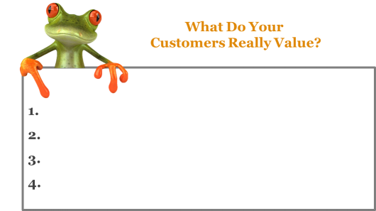 What Do Your Customers Really Value?
